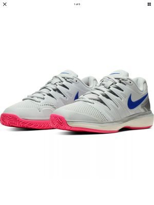 Nike Air Zoom Prestige HC Women's Size 10 men's 8.5 Tennis Shoes Pure Platinum AA8024-004 for Sale in Pasadena, CA