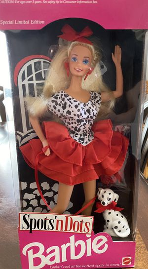 """Special Limited Edition """"Spots n Dots"""" Barbie for Sale in Albuquerque, NM"""