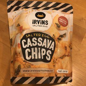 Irvins Salted Egg Cassava Chips (230g - Large) for Sale in Walnut Creek, CA
