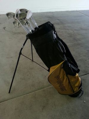 Ping ISI K irons with Ping Bag for Sale in Phoenix, AZ