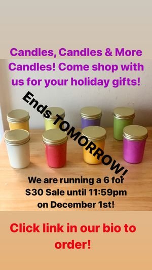 Handmade Candles for Sale in Hyattsville, MD