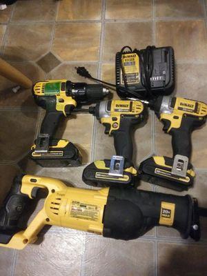 Dewalt cordless tools 20v for Sale in Sulphur, LA