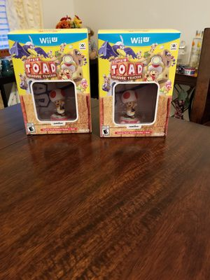 Captain Toad Treasure Tracker Amiibo Nintendo Wii U Switch for Sale in Cocoa, FL