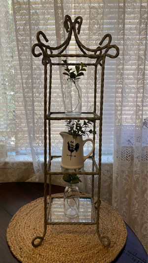 Metal / glass tower for Sale in Campbell, CA