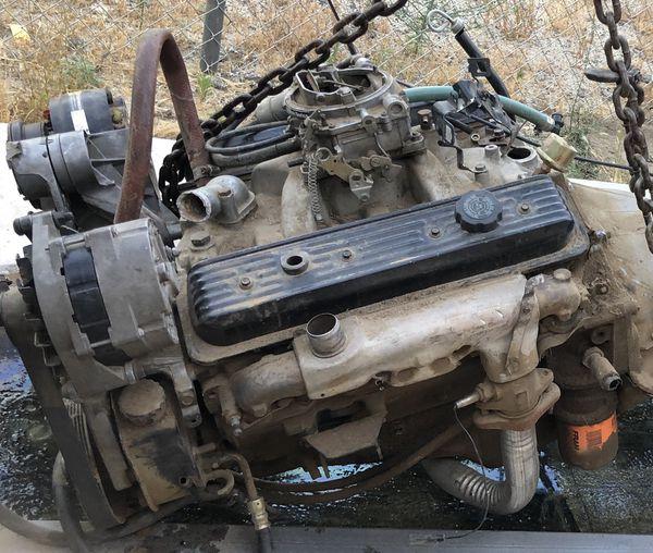 Chevy 350 engine