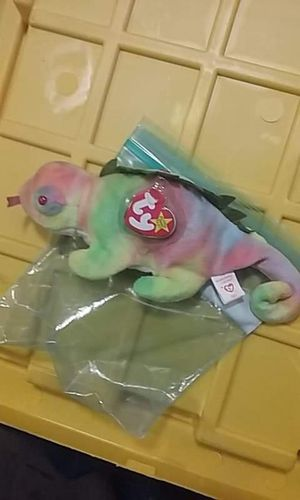 Iggy the rainbow Iguana beanie baby for Sale in Summerville, SC