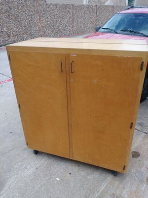 Wooden Cabinet! for Sale in Fort Worth, TX