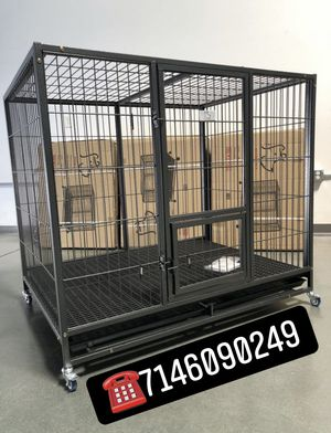 Heavy duty dog pet cage kennel size 50 XL new in box 📦 for Sale in Rancho Cucamonga, CA