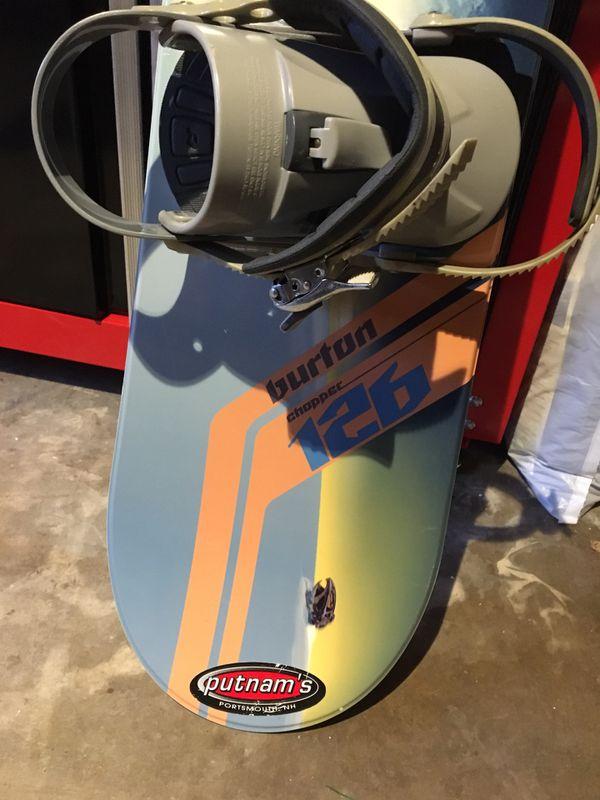 Burton chopper snowboard