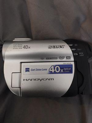 Sony Handycam w/Carl Zeiss for Sale in Virginia Beach, VA