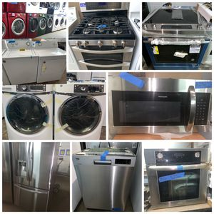 Refurbished & New scratch/dent Appliances excellent conditions with warranty for Sale in Baltimore, MD