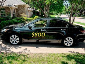 $8OO I sell my family car 2OO9 🔥🔥 Honda Accord Sport_V6𝓹𝓸𝔀𝓮𝓻 𝓢𝓽𝓪𝓻�.🔥🔥 for Sale in Arlington, VA