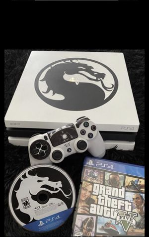 PS4 pro custom edition !! 1tb with gta v open to trades for Sale in Richmond, VA