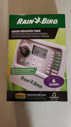 Rain Bird Sprinkler Irrigation Timer 6 Zone for Sale in Plant City, FL