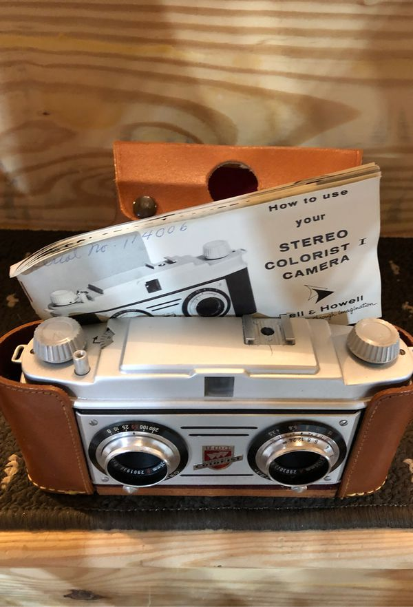 Bell & Howell Stereo colorist Camera