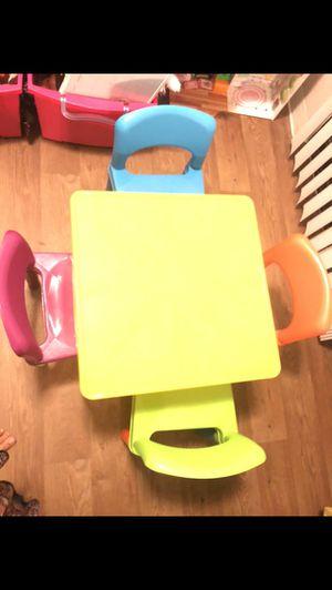 Children's table for Sale in Mesa, AZ