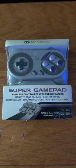 My Arcadie Súper Gamepad Controlador For Nintendo Snes.Classic Nes Classic Súper Famicom Wii .Wii. U(Súper Nes Colors for Sale in Los Angeles,  CA