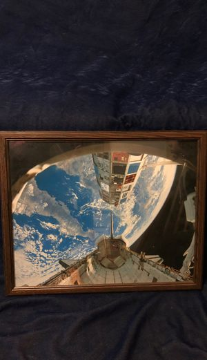 International Space Station Photograph for Sale in Bartlett, IL