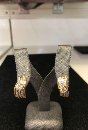 14k diamond earrings for Sale in Las Vegas, NV