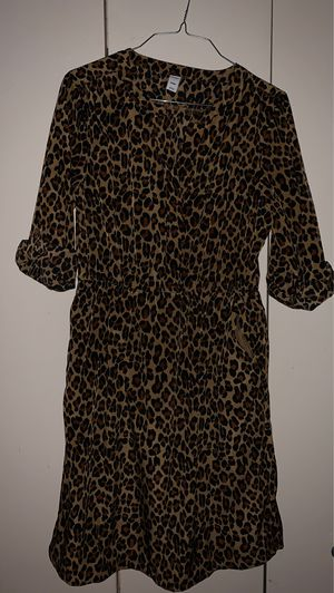 Cheetah dress size M for Sale in Los Angeles, CA