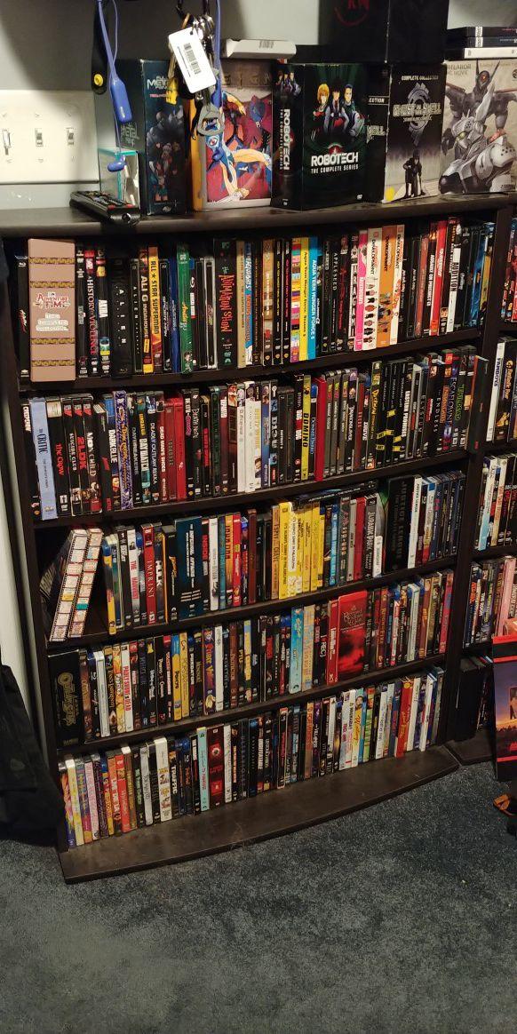 Sauder DVD Blu Ray Media Shelf