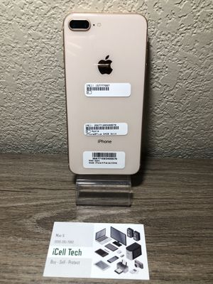 iPhone 8 plus 64gb At&t and Cricket Carrier. IMEI clean, iCloud unlocked. for Sale in Fresno, CA