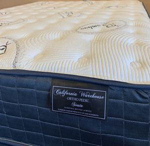 $220 brand new queen mattress plus box spring for Sale in Commerce, CA