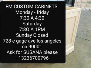 Kitchen cabinets CUSTOM & STOCK CABINETS AVAILABLE for Sale in Downey, CA
