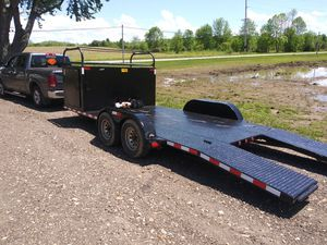 Trailer for late mod but will haul truck car anything for Sale in Circleville, OH
