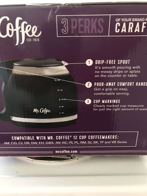 Mr coffee replacement carafe for Sale in Oakland Park, FL