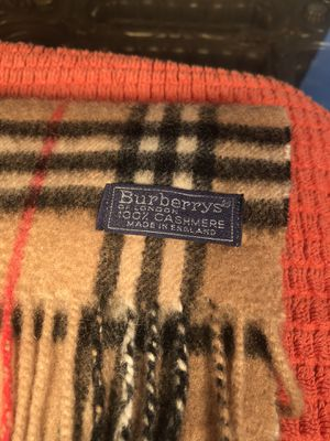 Burberry scarf retail is unbelievable for Sale in Fremont, CA