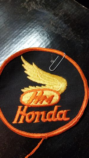 Vintage Honda motorcycle patch for Sale in Bothell, WA