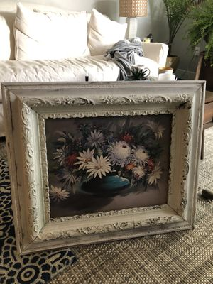 Old Antique frame and picture for Sale in Austin, TX