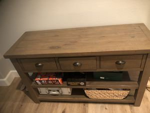 Console and Coffee table $150 EACH! for Sale in Newport Beach, CA