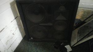 Audio centron 2 horns 6 speakers for Sale in Seattle, WA