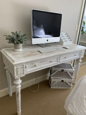 Writing desk and baskets for Sale in Clackamas, OR