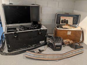 Vintage Cameras (Minolta and Canon ) for Sale in Whittier, CA