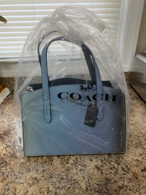 Brand New 2 Tone Blue Coach bag $175 for Sale in Lodi, NJ
