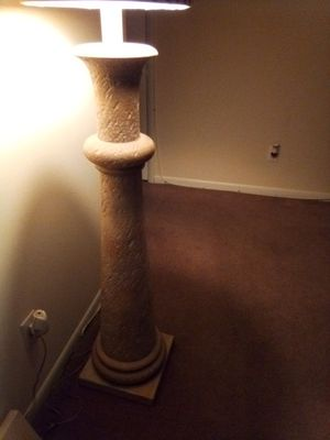 Stone floor lamp for Sale in Newport News, VA