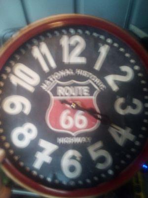 Antique route 66 clock for Sale in Dothan, AL