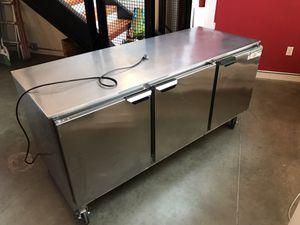 Beverage Air 3 Door Undercounter Refrigerator for Sale in Seattle, WA