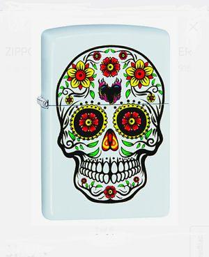 White Painted Skull Design Zippo Lighter Brand New for Sale in Easton, PA