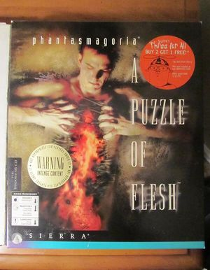 Phantasmagoria A Puzzle of Flesh PC CD-ROM for Sale in Howell Township, NJ