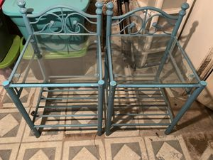 2 end tables for Sale in Philadelphia, PA