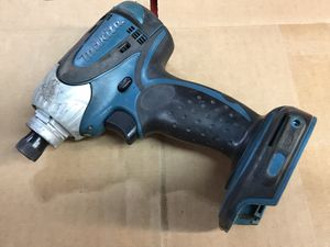 """Excellent Makita 18v lxt lithium 1/4"""" impact drill driver for Sale in Mountain View, CA"""