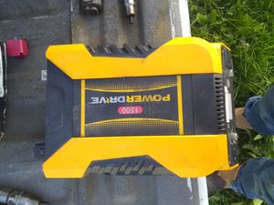 Like new 1500w power converter for Sale in White Swan, WA