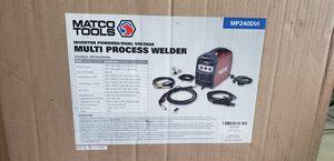 Brand New Matco Tools Multi Process Welder inverter powered/ Dual Voltage MP240DVI for Sale in Lauderhill, FL