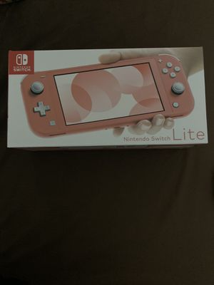 Nintendo switch lite console (coral) for Sale in Saint Charles, MD