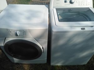 Whirlpool dryer and maytag washer 500$$ delivered and installed for Sale in Frisco, TX