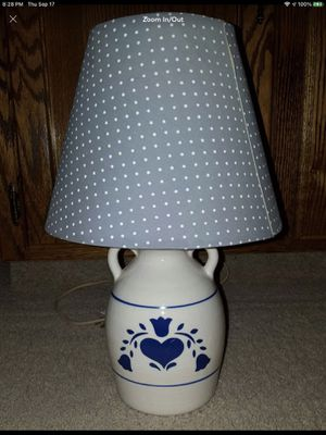 Vintage Country Heart Lamp/vintage Heart Lamp/LIKE NEW/BABY/TABLE for Sale in Bakersfield, CA